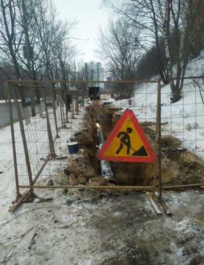ремонт водопровода триумф (7)